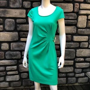Cap Sleeved Side Gathered Dress NWT Spense sz 6